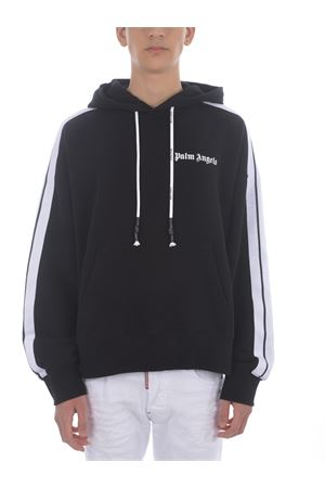 Felpa Palm Angels Fleece track in cotone PALM ANGELS | 10000005 | PMBB058S21FLE0091001