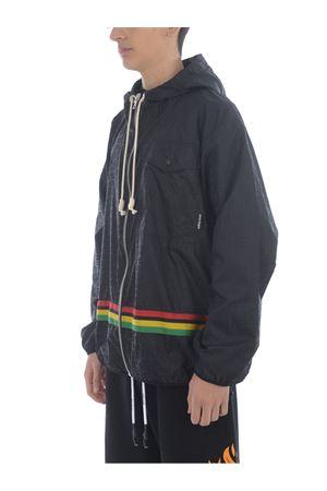 Palm Angels Monogram windbreaker nylon jacket PALM ANGELS | 13 | PMEB010S21FAB0031084