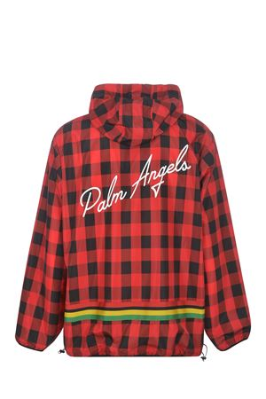 Giacca Palm Angels Buffalo Ceck Windbreaker  in nylon PALM ANGELS | 3 | PMEB014S21FAB0022501