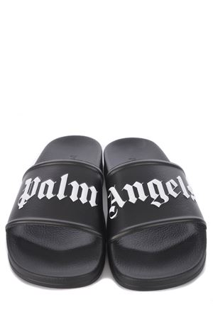 Palm Angels Pool Slider rubber slippers PALM ANGELS | 2092362282 | PMIC001R21PLA0011001