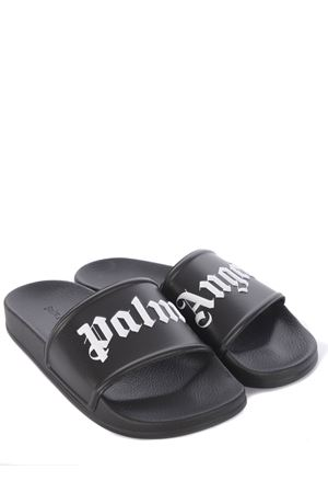 Palm Angels Pool Slider rubber slippers PALM ANGELS | 2092362282 | PMIC001S21PLA0011001