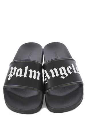 Ciabatte Palm Angels Pool Slider in gomma PALM ANGELS | 2092362282 | PMIC001S21PLA0011001
