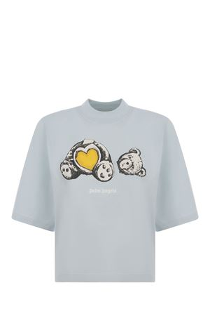 Palm Angels Bear in Love cotton T-shirt  PALM ANGELS | 8 | PWAA020S21JER0024401