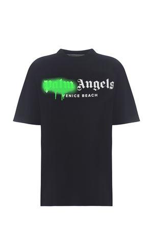 Palm Angels Venice Beach sprayed cotton t-shirt PALM ANGELS | 8 | PWAA039S21JER0021070