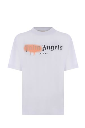 Palm Angels Miami sprayed cotton T-shirt PALM ANGELS | 8 | PWAA039S21JER0060130