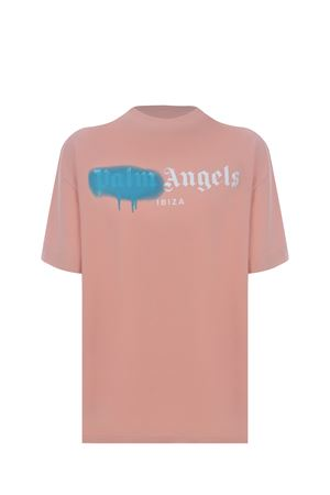 T-shirt Palm Angels Ibiza sprayed in cotone PALM ANGELS | 8 | PWAA039S21JER0073340