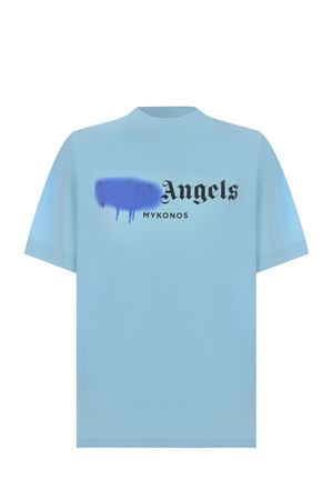 T-shirt Palm Angels Mykonos sprayed in cotone PALM ANGELS | 8 | PWAA039S21JER0084036