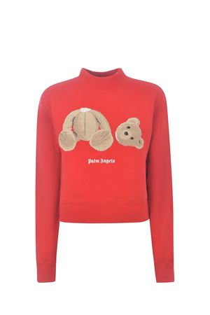 Palm Angels Bear cotton sweatshirt PALM ANGELS | 10000005 | PWBA016S21FLE0012560