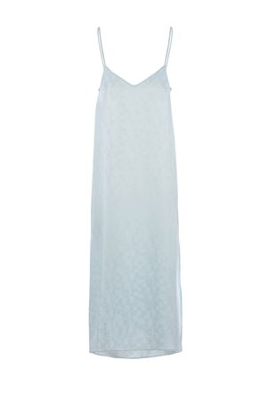Palm Angels Monogram Slip nylon dress PALM ANGELS | 11 | PWDB100S21FAB0014040