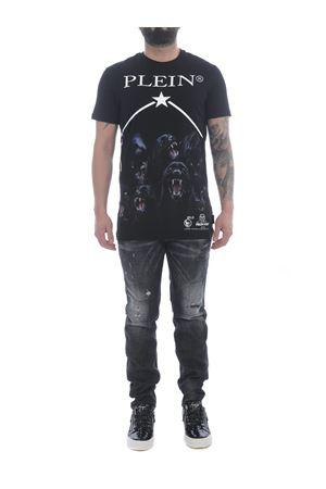 T-shirt Philipp Plein Panther in cotone PHILIPP PLEIN | 8 | MTK5104PJY002N-02