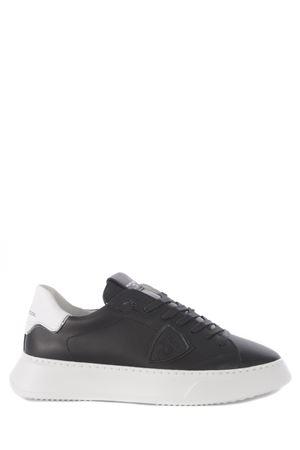 Sneakers Philippe Model Temple Low in pelle PHILIPPE MODEL | 5032245 | BTLUV002