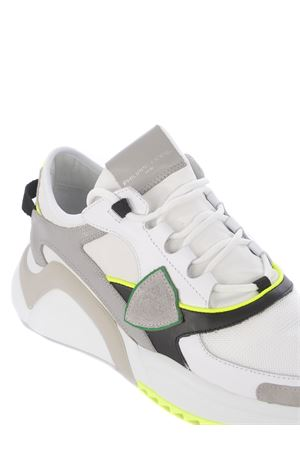 Philippe Model Eze Low leather and nylon sneakers  PHILIPPE MODEL | 5032245 | EZLUWF04