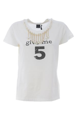 T-shirt Pinko Estroverso in jersey di cotone PINKO | 8 | 1G15NU-Y6YXZ14