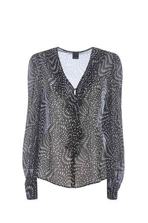 Pinko Astrometria shirt in viscose georgette PINKO | 6 | 1G15R9-8421ZZ2