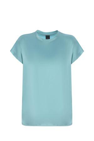Pinko Farida blouse in stretch silk satin PINKO | 8 | 1G15S1-ZR64E53