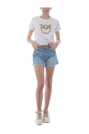 T-shirt Pinko Quentin 1 in jersey di cotone PINKO | 8 | 1G1610-Y4LXLZC