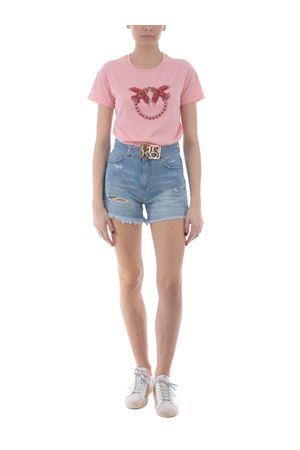 T-shirt Pinko Quentin 1 in jersey di cotone PINKO | 8 | 1G1610-Y4LXO53