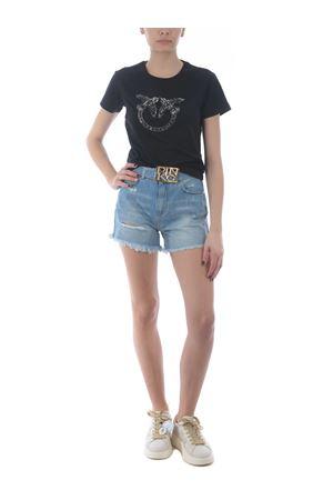 T-shirt Pinko Quentin 1 in jersey di cotone PINKO   8   1G1610-Y4LXZ99