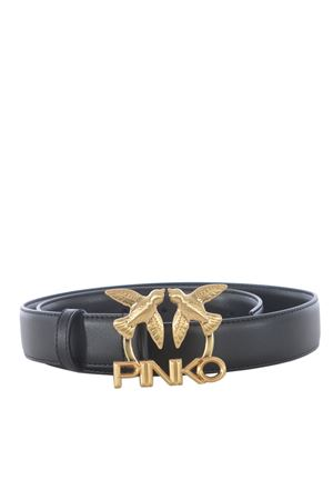Pinko Aster Simply leather belt PINKO | 22 | 1H20VW-Y6XFZ99