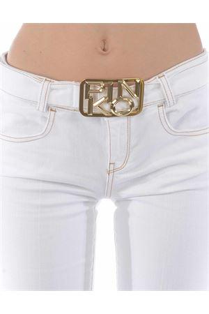 Pantaloni flare-fit Pinko Feliz 3 in bull di cotone comfort PINKO | 9 | 1J10KZ-Y62NZ08