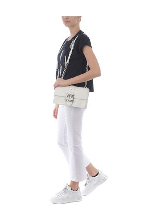 Pinko Love Classic Icon Simply 3 leather bag PINKO | 31 | 1P221H-Y6XUZ14