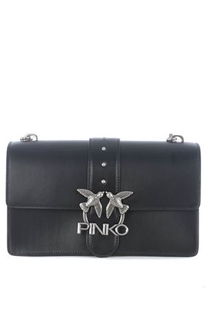 Pinko Love Classic Icon Simply 3 leather bag PINKO | 31 | 1P221H-Y6XUZ99