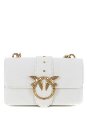 Pinko Mini Bag Love Mini Icon Simply 4 in leather PINKO | 31 | 1P221P-Y6XTZ14