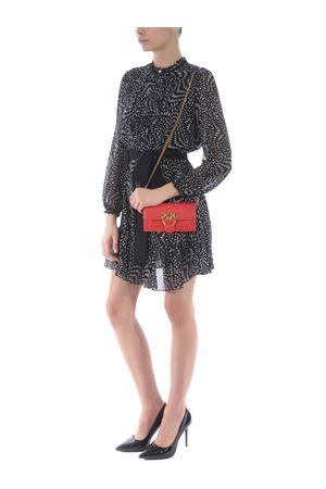 Pinko Love simply 3 handbag / wallet in calfskin PINKO | 63 | 1P221Y-Y6XTR43