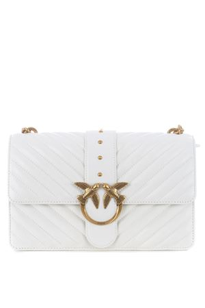 Pinko Love Classic Icon V Quilt shoulder bag in nappa leather PINKO | 31 | 1P221Z-Y6XVZ14