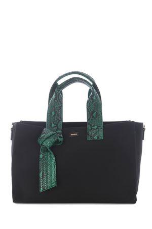 Borsa Pinko Horizontal Medium Shopping in cotone PINKO | 31 | 1P224E-Y6YKZ99