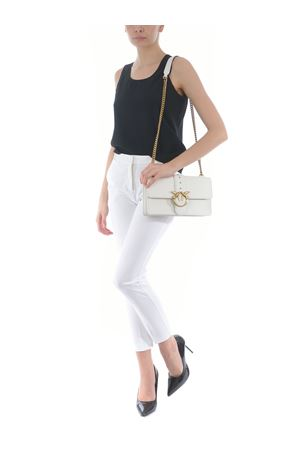 Pinko Love Classic Icon Simply 6 bag in leather PINKO | 31 | 1P2281-Y6XTZ14