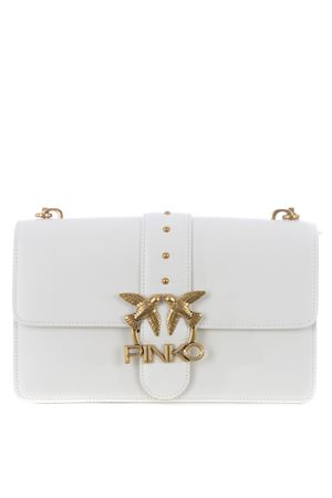 Pinko Love Classic Icon Simply 7 bag in leather PINKO | 31 | 1P228G-Y6XTZ14