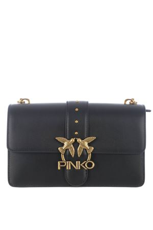 Pinko Love Classic Icon Simply 7 bag in leather PINKO | 31 | 1P228G-Y6XTZ99