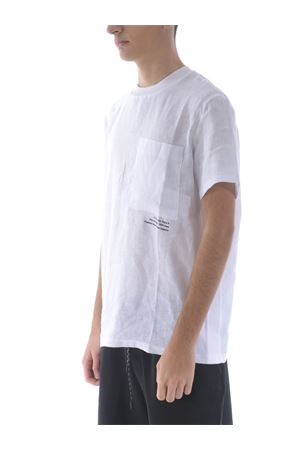 T-shirt PMDS in lino PMDS | 8 | HOWI616-BIANCO