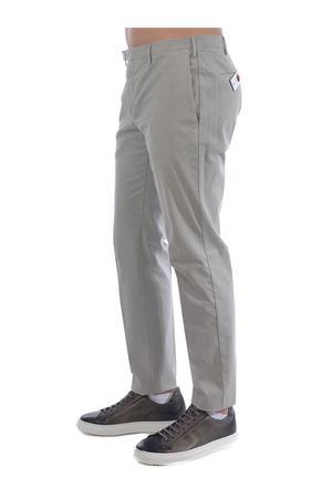 PT01 trousers in stretch cotton PT01 | 9 | COKTZEZ00CUBNK03-0214