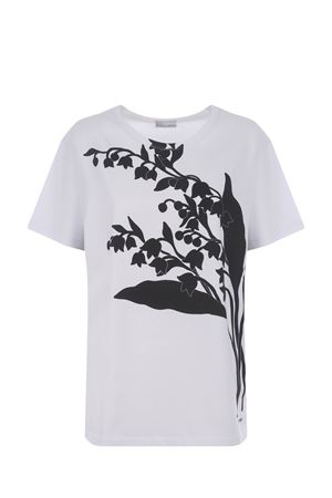 Red Valentino May Lily cotton T-shirt RED VALENTINO | 8 | VR3MG08U5PQ001