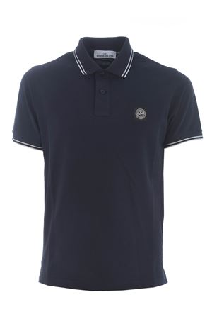 Polo Stone Island in piquet stretch STONE ISLAND | 2 | 22S18V0020