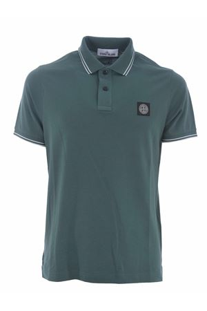 Polo Stone Island in piquet stretch STONE ISLAND | 2 | 22S18V0057