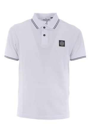 Polo Stone Island in piquet stretch STONE ISLAND | 2 | 22S18V1001