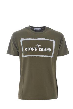 T-shirt Stone Island in cotone STONE ISLAND | 8 | 2NS80V0058