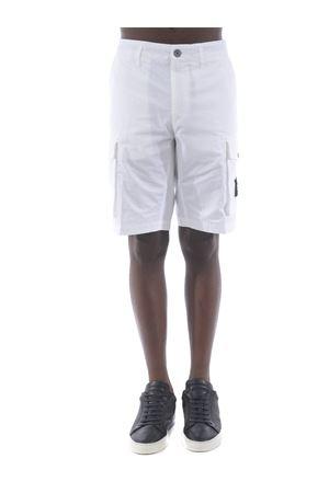 Stone Island cotton gabardine shorts STONE ISLAND | 30 | L07WAV0001