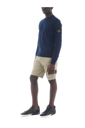 Stone Island cotton gabardine shorts STONE ISLAND | 30 | L07WAV0195