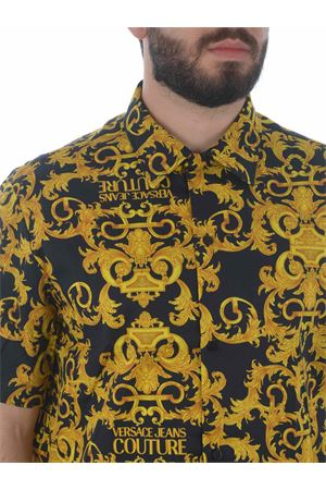 Versace Jeans Couture shirt in stretch cotton twill VERSACE JEANS | 6 | B1GWA6B4S0152-899