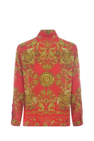 Versace Jeans Couture viscose twill shirt  VERSACE JEANS | 6 | B1GWA6R3S0273-514