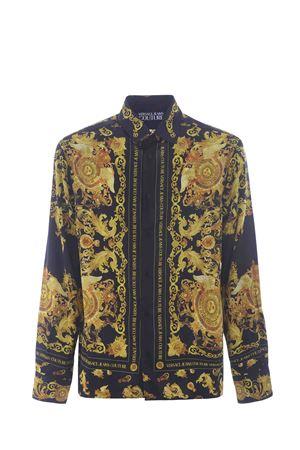 Camica Versace Jeans Couture in twill di viscosa VERSACE JEANS | 6 | B1GWA6R3S0273-899