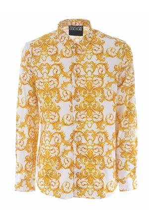 Camicia Versace Jeans Couture in twill di cotone stretch VERSACE JEANS | 6 | B1GWA6S0S0152-003