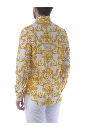 Versace Jeans Couture shirt in stretch cotton twill VERSACE JEANS | 6 | B1GWA6S0S0152-003