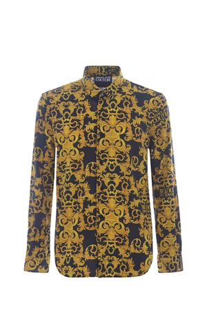 Versace Jeans Couture shirt in stretch cotton twill VERSACE JEANS | 6 | B1GWA6S0S0152-899