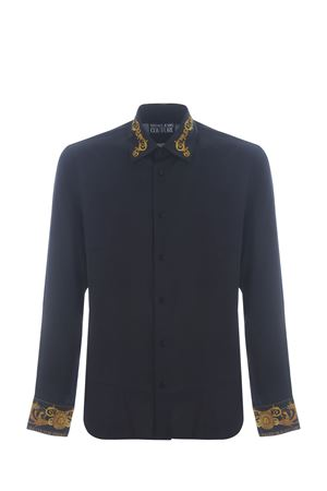 Versace Jeans Couture viscose twill shirt  VERSACE JEANS | 6 | B1GWA6S307619-899