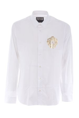Camicia Versace Jeans Couture in cotone stretch VERSACE JEANS | 6 | B1GWA6S530421-003